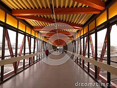 Structure walkway