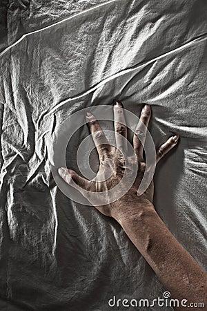 Struggling Hand