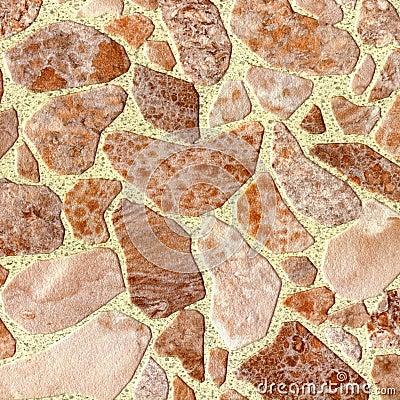 Struttura astratta di marmo del primo piano