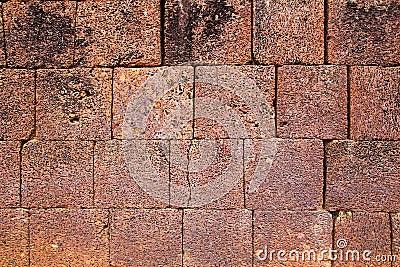 Struttura della parete di pietra