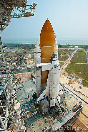STS-135 Editorial Stock Photo