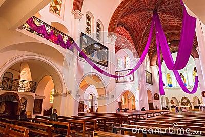 Sts. Simeon and Elena roman catholic church Editorial Image