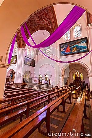Sts. Simeon and Elena roman catholic church Editorial Photo