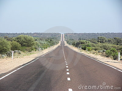 Stuart Highway, desert country, South Australia
