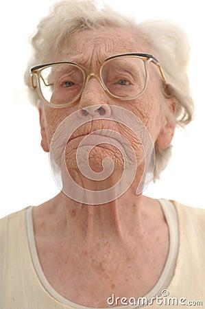 Stubborn Granny