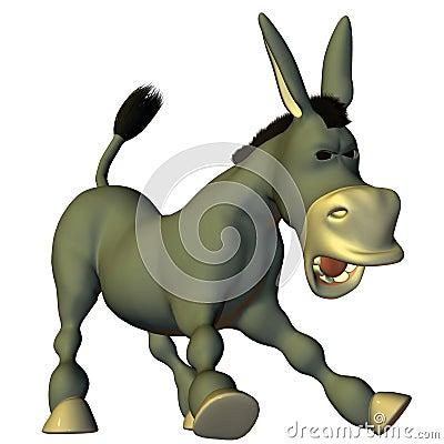 Stubbornly donkey