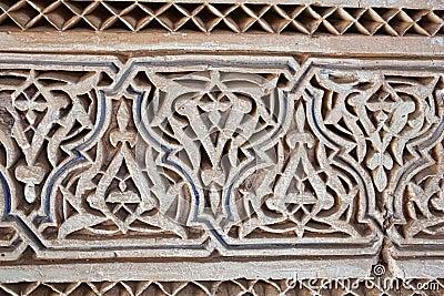 Stuck und Steinmetzarbeit, Marokko