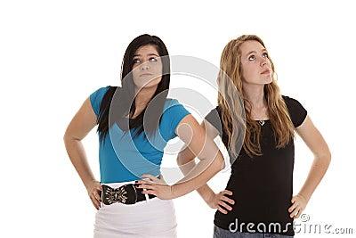 Stuck up teen girls