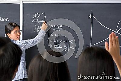 Student asking to teacher