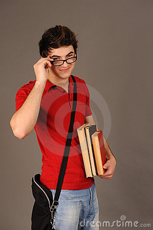 Student boy.