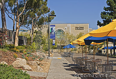 Student Center, UC San Diego Editorial Photography