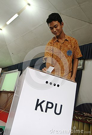 Student election Editorial Image