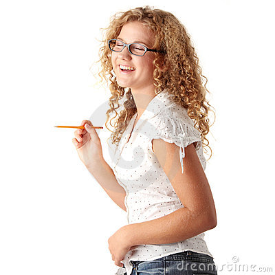Free Student Girl Royalty Free Stock Images - 12063509
