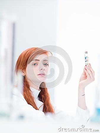 Student lab pills analysis