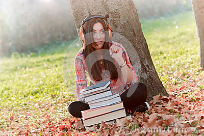 Student learning-audio