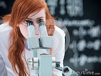 Student microscope analysis