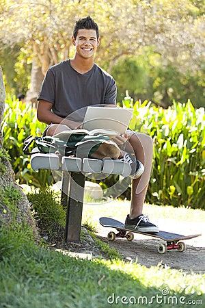 Student a park