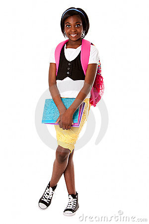 Free Student Ready For School Royalty Free Stock Images - 20036859
