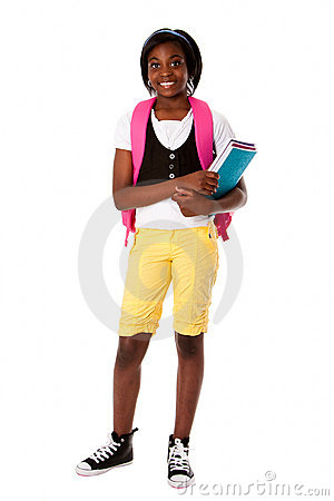 Free Student Ready For School Royalty Free Stock Image - 20036866