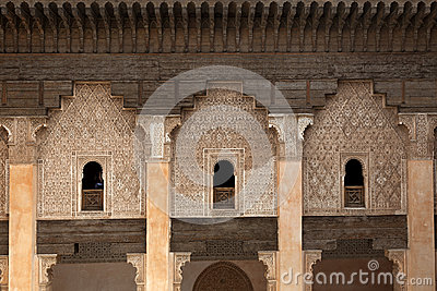 Student rooms in the Medersa ben Youssef
