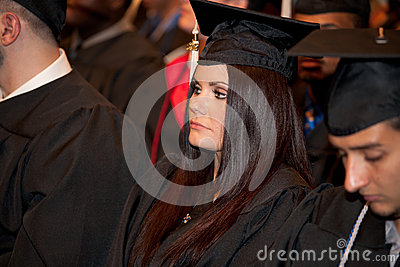 Students on Graduation Day Editorial Image