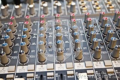 Studio audio mixer I