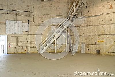 Studio cinematografico vuoto