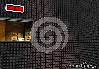 Studio di registrazione immagine stock immagine 6460991 - Studio di registrazione casalingo ...