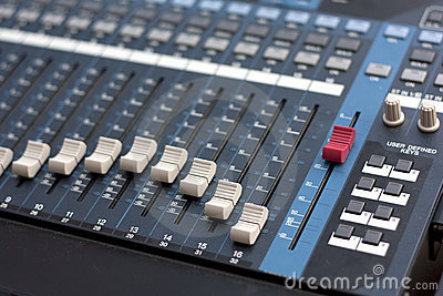 Studio Digital Music Mixer