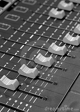 Free Studio Faders Stock Images - 8226554