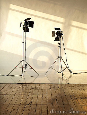 Free Studio Lights Stock Photo - 21749450