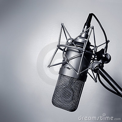 Free Studio Microphone Stock Photography - 1972072