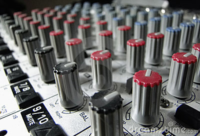 Studio Mixer knobs