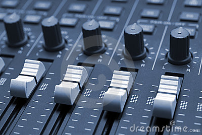 Studio Mixing Desk