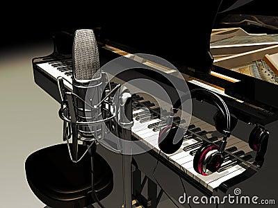 Studio music