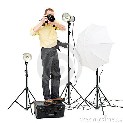 Studio photographer