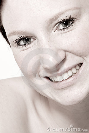 Free Studio Portrait Of A Young Woman Flirting Stock Photo - 3877610