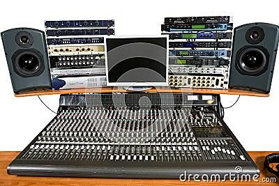 Studio recording equipment