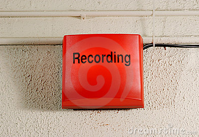 Studio Recording Sign