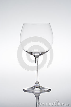 Studio Shot Of Empty Vine Glass Royalty Free Stock Photos - Image: 27563918