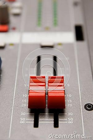 Studio sound mixer details