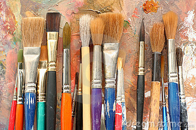 StudioArt palette and brushes 04