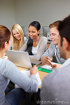 Study group in university