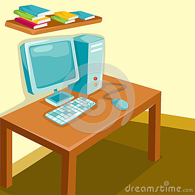 Study Room Stock Photo Image 25328040