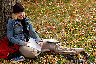 Study Woman