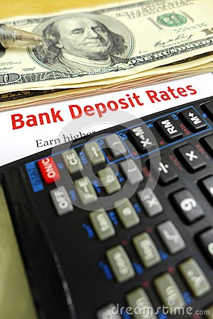 Studying bank deposit rates