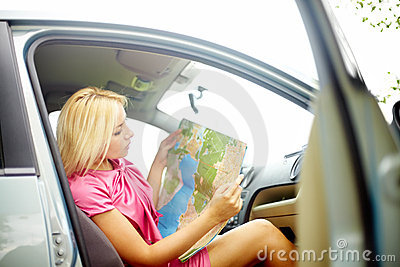 Studying Map Royalty Free Stock Photos - Image: 23212938