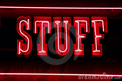 Stuff neon lights
