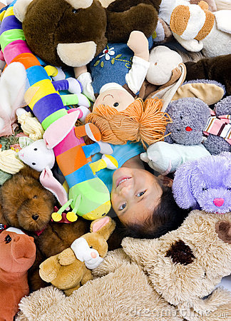Stuffed Animals Royalty Free Stock Photo - Image: 3222815