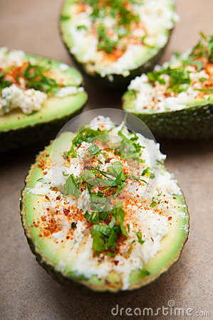 Free Stuffed Avocados Royalty Free Stock Photos - 64748398